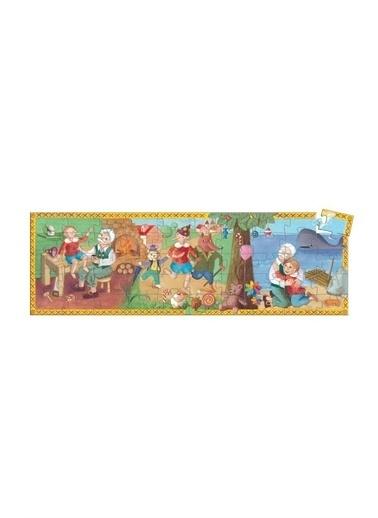 Djeco Djeco Dekoratif Puzzle 54 Parça/Pinoccio Pembe